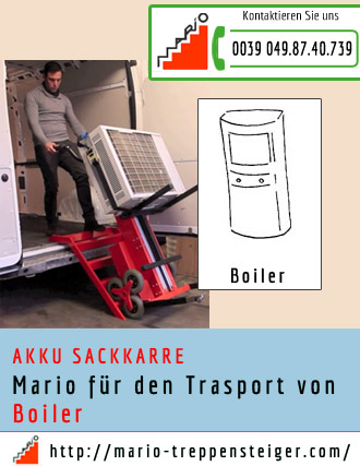 akku sackkarre mario trasport boiler. Black Bedroom Furniture Sets. Home Design Ideas